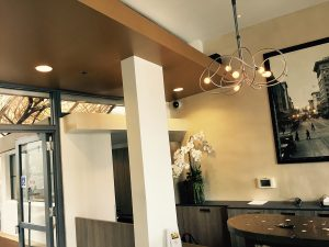 front desk cabinetry